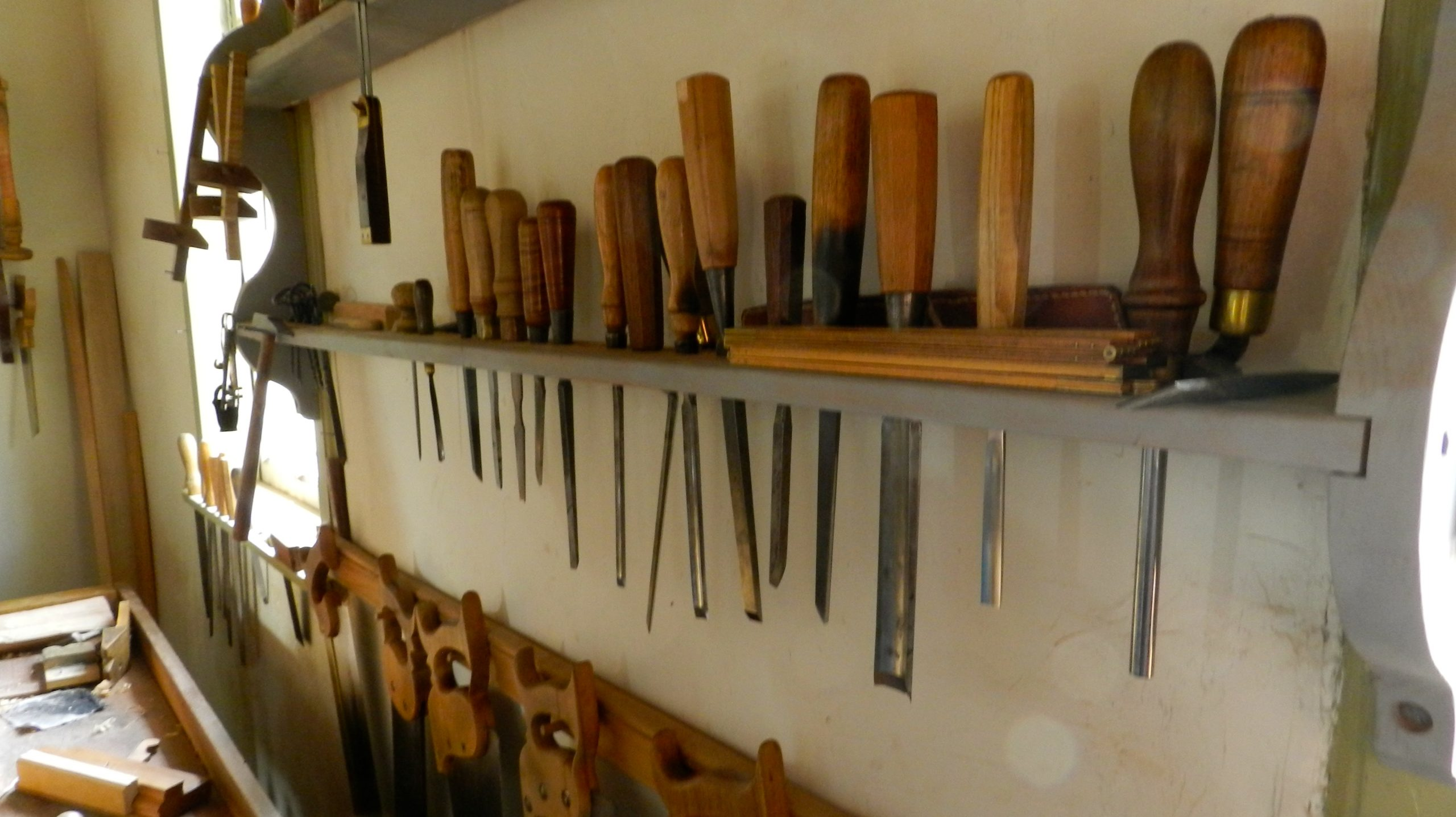 Tool Rack -- Old Salem NC