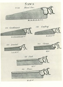 Plate from Smith's Key -- Saws