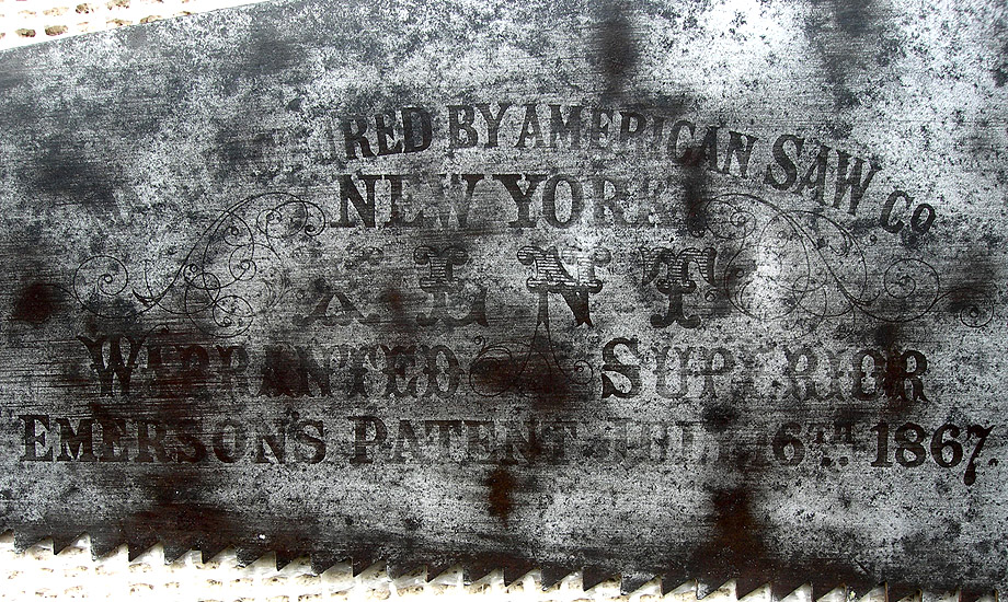 American saw Co. Saw blade etch - featured image.
