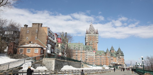Hotel Frontenac, Quebec City