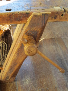 Wooden Vise, Shaker Village of Pleasant Hill