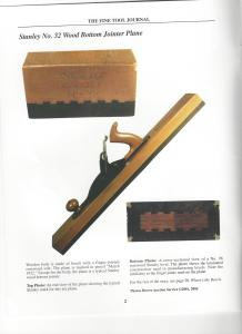 No. 32 Stanley Rosewood and Beech Jointer Plane
