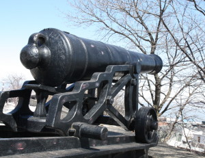 Canon in Old Quebec City