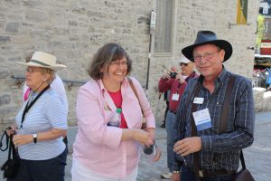 Debbie and Ross Gibson enjoying our tour of Old Quebec during the 2015 EAIA Annual Meeting in Quebec City.