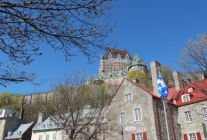 Old Quebec City and the Chateau Frontenac 980x550