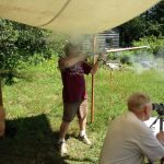 Black powder shooting