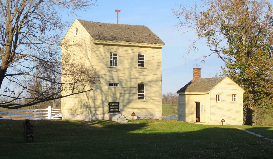 Brethren's Bath House at Pleasant Hill Shaker Village