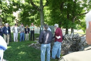Dry Stone Wall Construction Demonstration During the 2016 EAIA Annual Meeting at Pleasant Hill Shaker Village