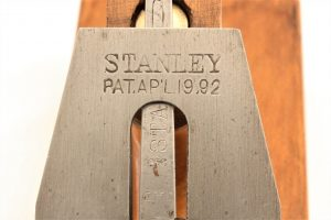 Cutter Logo on Model Shop Stanley #27 Jack Plane