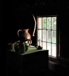In the Pottery at Old Sturbridge Village