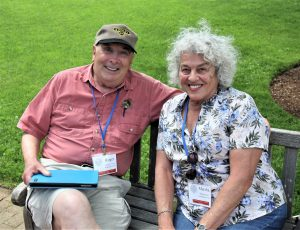 Marsha and Roger K. Smith at the 2017 EAIA Annual Meeting at Old Sturbridge Village