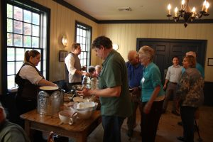 At the Ice Cream Social During the 2017 EAIA Annual Meeting at Old Sturbridge Village