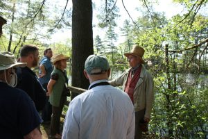 Our Guide Leading Us on the Mills Tour at Old Sturbridge Village During the 2017 EAIA Annual Meeting