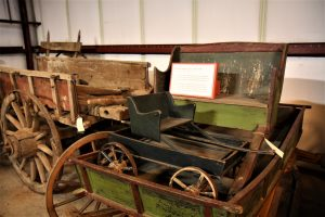 More 19th Century Vehicles in the Machine Shed at Old Sturbridge Village