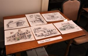 Tom Ellilott's Drawings Done During the 2017 EAIA Annual Meeting at Old Sturbridge Village