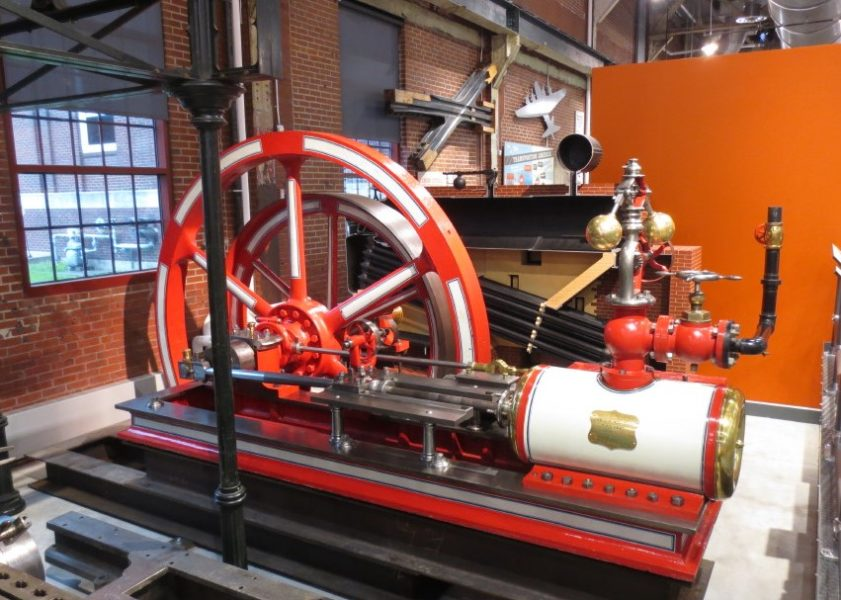Steam Engine at the National Museum of Industrial History