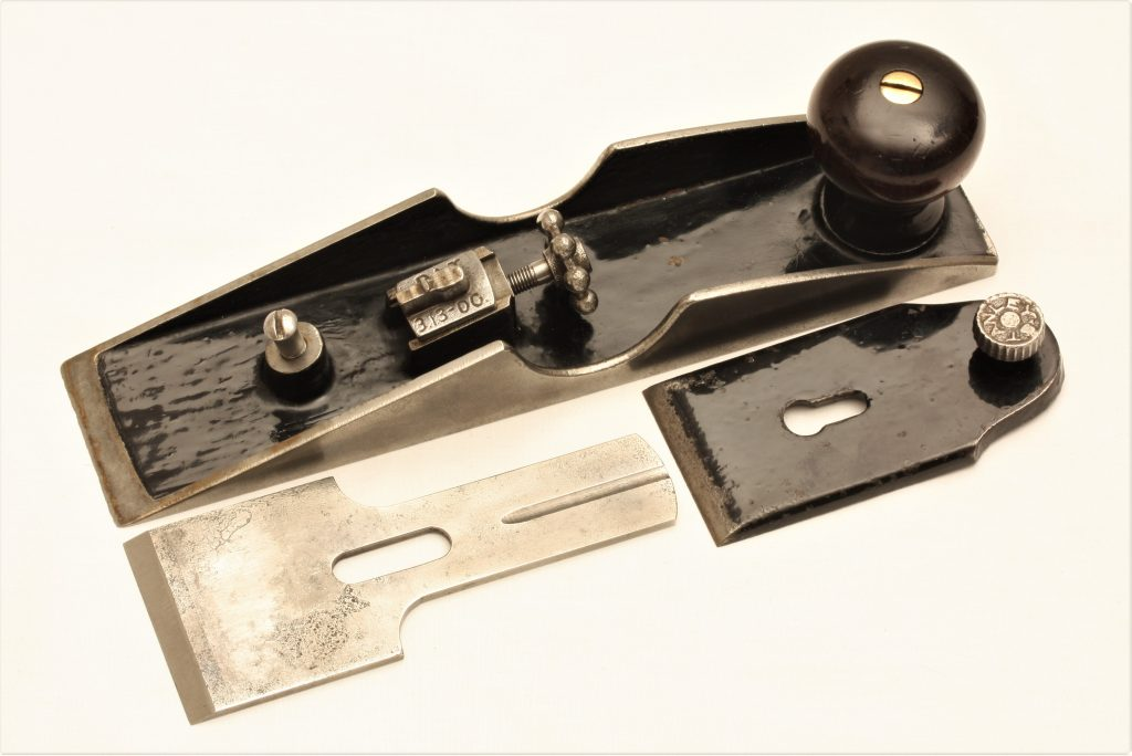 Stanley No. 97 Chisel Plane Type 1 Disassembled