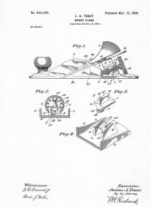 Traut's Patent No. 645,220