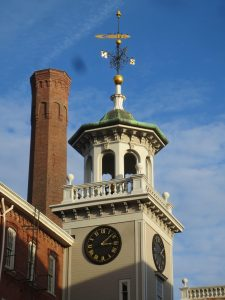 Clock Tower at the Boott Cotton Mills