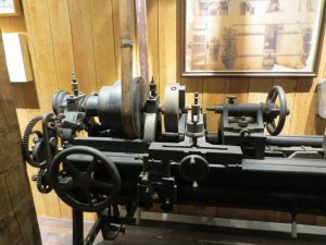 Early Lathe from the Lowell Machine Shop