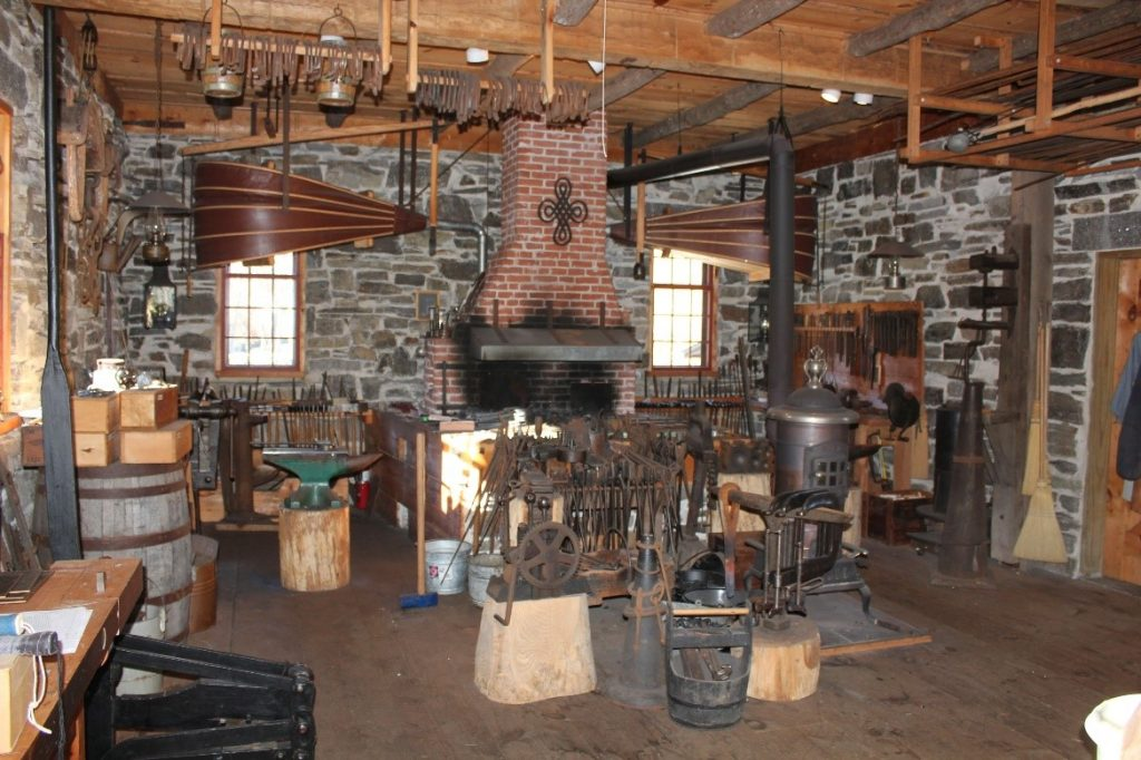 The Moses Wilder Blacksmith Shop