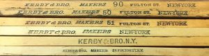 Examples Identifying the Working Locations of Kerby Bros. Rules