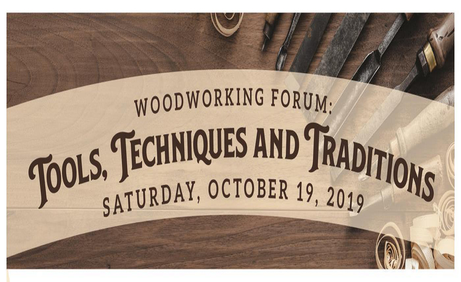 Tools Techniques Traditions A Forum At Osv Early