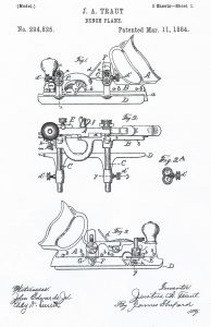 Traut's Patent for the Stanley No. 45