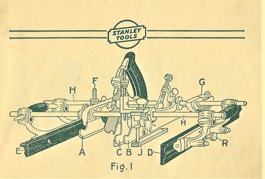 Stanley No. 55 Image from the 1935 Stanley No. 55 Instruction Manual